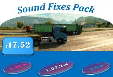Sound Fixes Pack v17.52