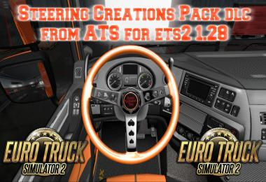 Steering Creations Pack from ATS for ets2 1.28