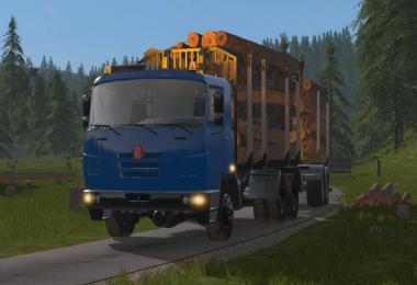 Tatra Terrno Log Truck v1.0