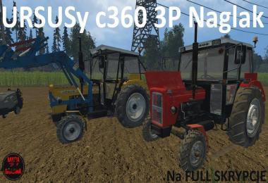 Ursus C360 3P Naglak Fullscript (FS15) v1