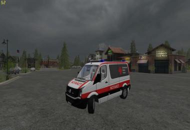 VW Crafter Emergency Doctor Skin v3.0