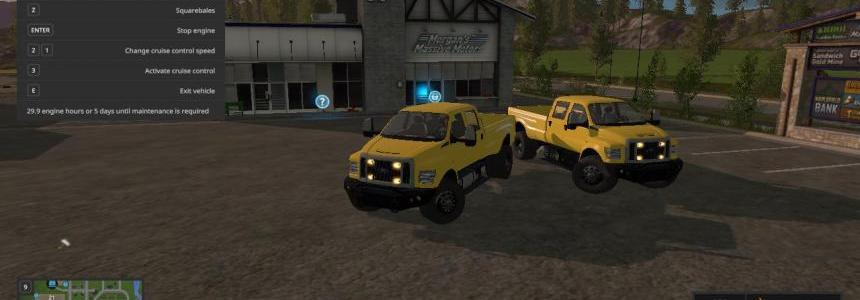 2017 Ford f-650 pick-up v1.0