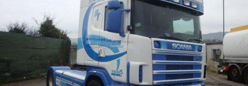 Real Scania R580 V8 Sound 1.28.x