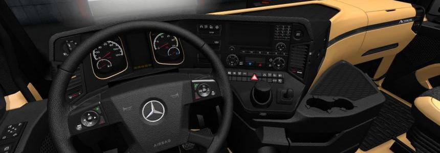 The luxury interior for MB MP4 Final 1.28.x