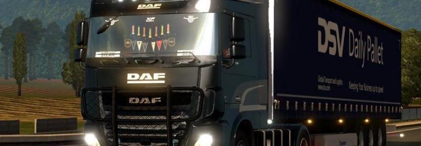 DAF XF E6 by ohaha v2.00
