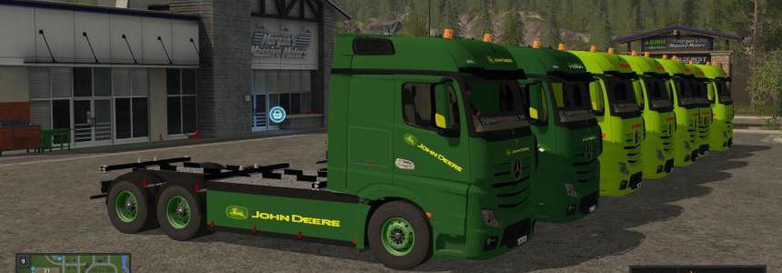 Mercedes Benz Actros Pack v1.0