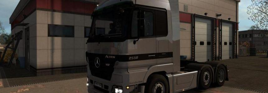 Mercedes Actros MP2 Addon v7.0