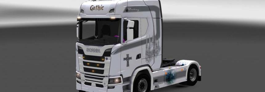 Scania R730 Gothic skin 1.28.x