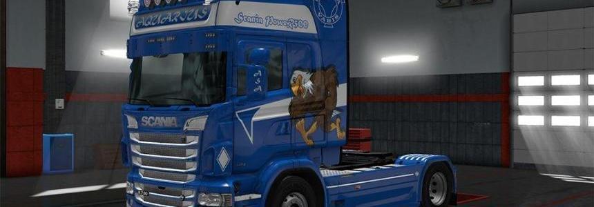 Aquarius R500 Scania RJL Skin