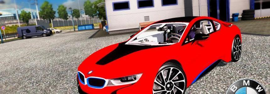 BMW i8 + Interior v3.0 (1.28.x)
