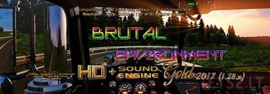 Brutal Environment Gold 1.28.x by Stewen