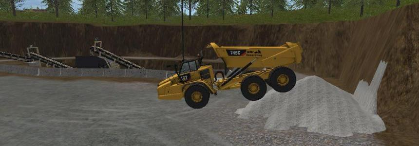 Caterpilller rock truck v1.0