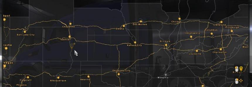 Coast to Coast Map - v2.2 Released (1.28)