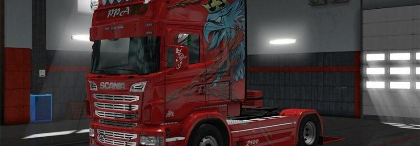 Cupparo Scania RJL Skin