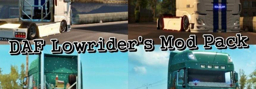 DAF Lowrider's Mod Pack [1.28x]