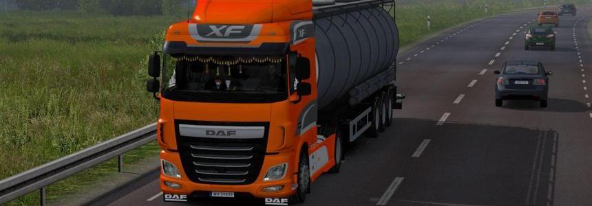 Daf XF Euro 6 Reworked v1.7 1.28.x