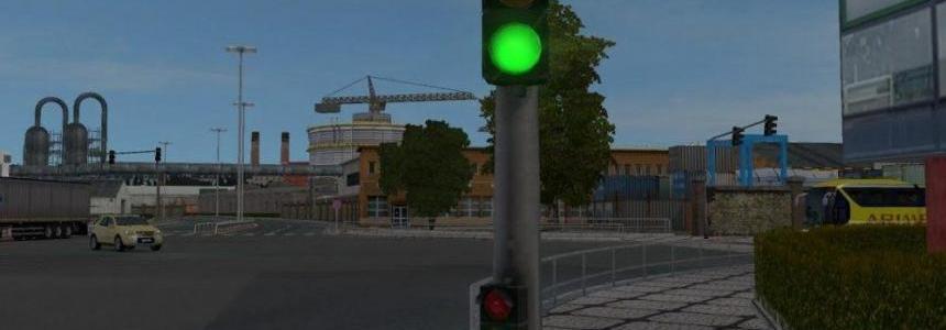Flashing Green Traffic Light v2.0