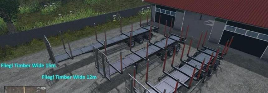 Fliegl Timber Runner Wide v1.0