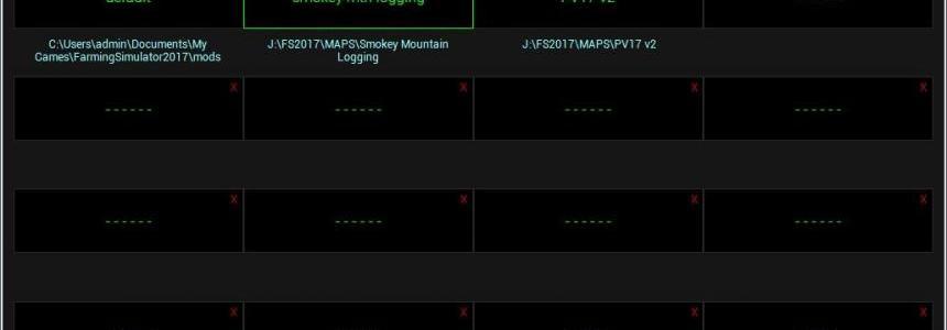 FS17 Mod Folder Manager v1.1