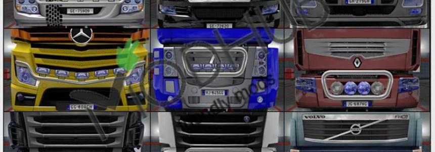 Headlights Xenon Realistic by Rockeropasiempre