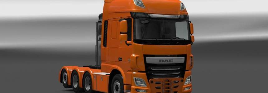 Heavy Haulage chassis for DAF XF Euro 6 [SCS] 1.28.x