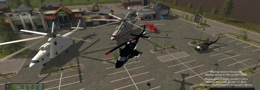 Helicopters Pack v1.0