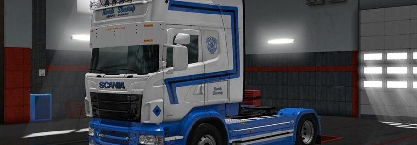 Henrik Skaarup Scania RJL Skin