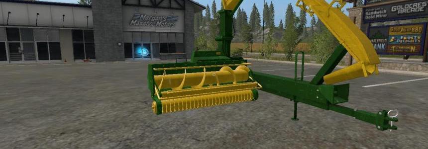 John Deere 3765 Forage Harvester v1.2