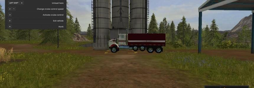 Kenworth t800 grain truck v1.0.0.0