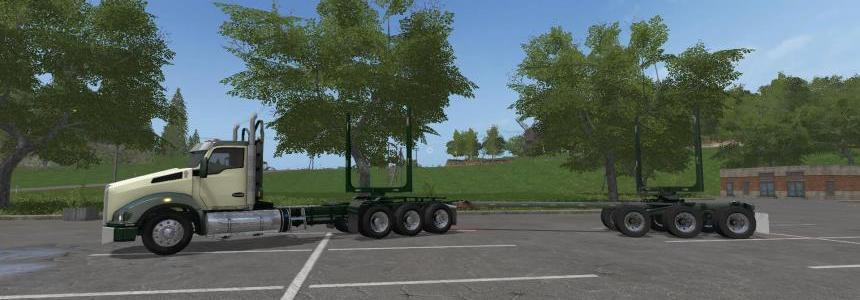 Kenworth T880 and Trailers v1.0