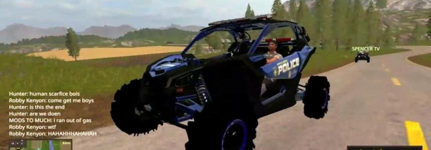 Maverick Police Car v1.0