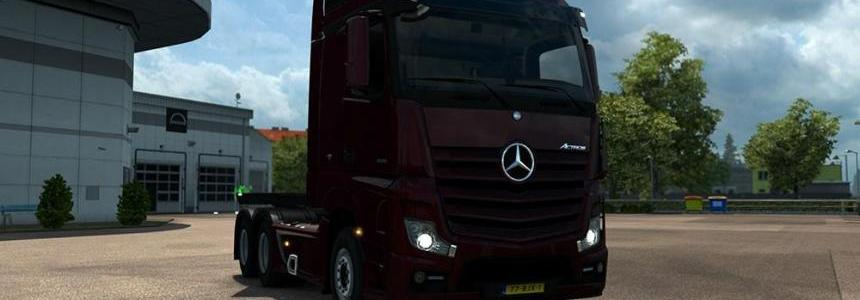 Mercedes Actros MP4 Sound