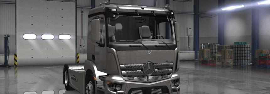 Mercedes Antos 1840 for ATS