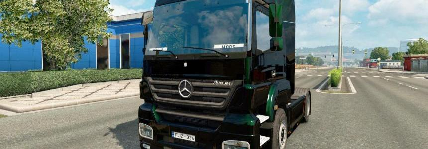 Mercedes-Benz Axor ultimate v4.0 1.28.x