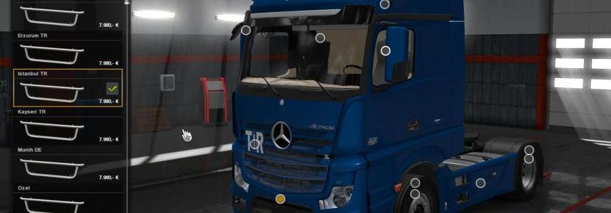 Mercedes Benz New Actros v1.1 1.28