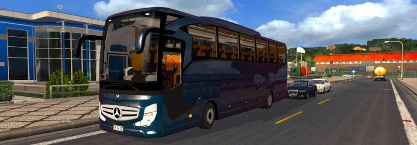 Mercedes Benz Travego 2016 v4.0 + Skins 1.28