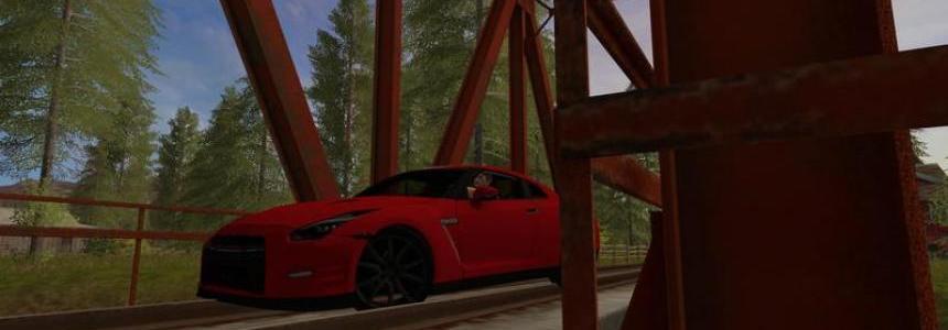 Nissan Gtr 2015 Red v0.1