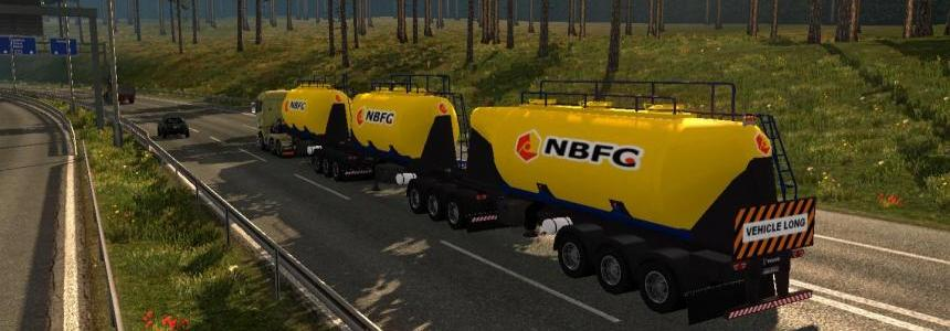 PACK CARGO DOUBLE TRAILERS ETS2 1.28