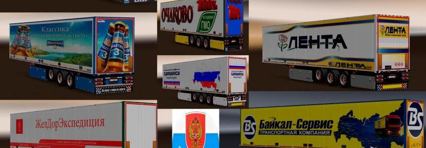 Pack trailers real Russian companies 1.28