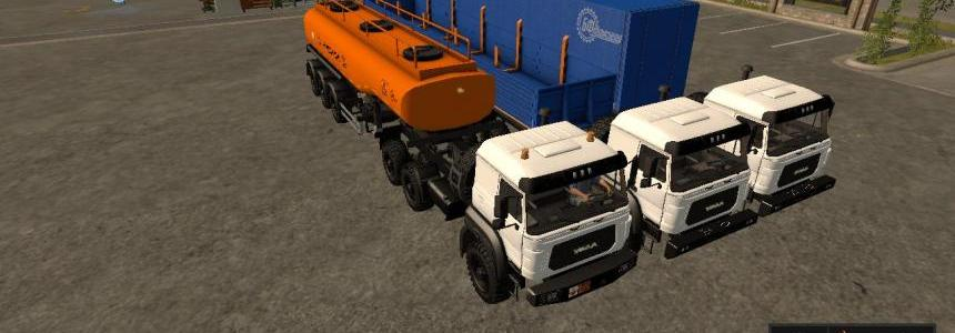 PACK URAL-M AND TRAILERS v1.0