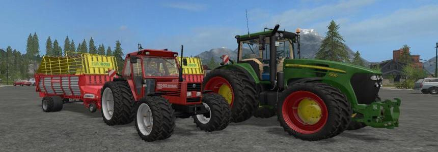 Pottinger EuroBoss 330T with twin tires v1.0