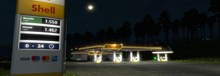 REAL EUROPEAN GAS STATIONS RELOADED v 2.0