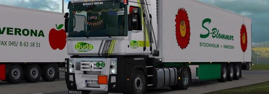 Renault Magnum Updates v18.01 for ETS2 v1.28
