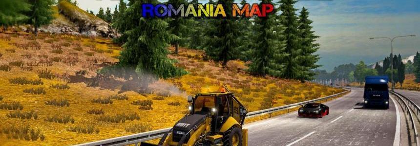 Romanian Map v9.25 [1.28.x]