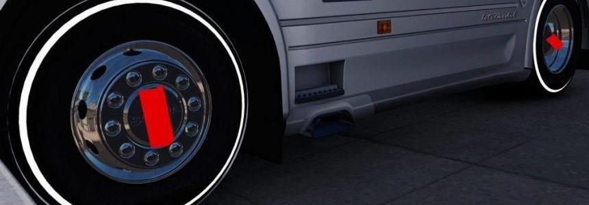 Scania Alcoa Wheel v1.0