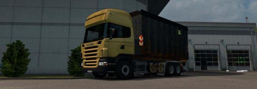 Scania Joab hooklift chassis addon for RJL