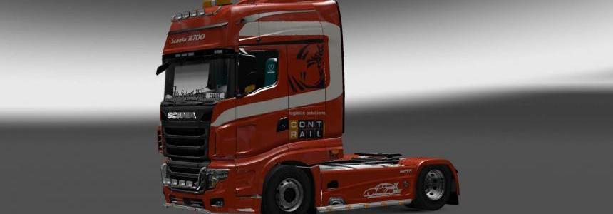 Scania R700 Contrail skin 1.28.x