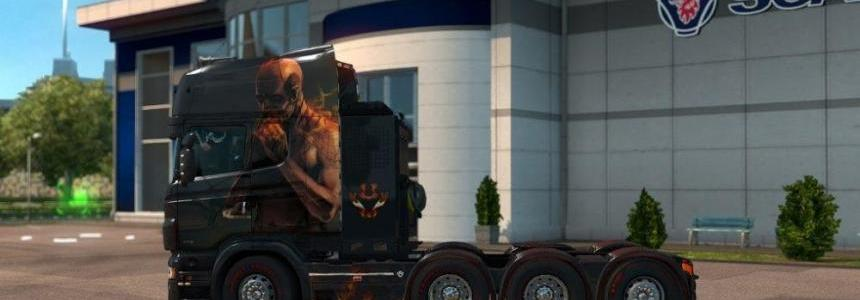 Scania RJL El Diablo Skin
