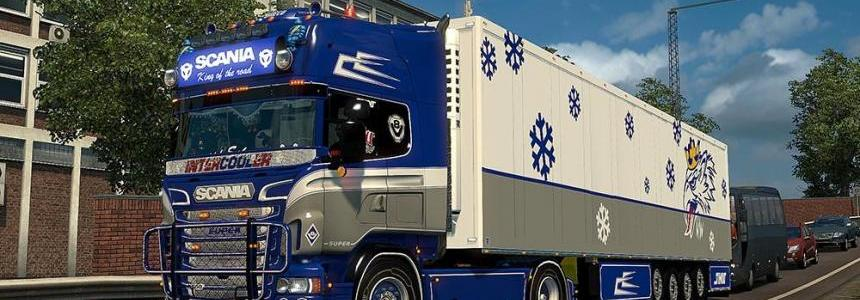 Scania RS (RJL) Blue Custom Skin Combo Pack + Accessory