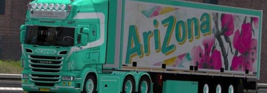 Scania RS + trailer arizona by wigmore3Ddesign